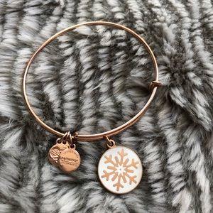 Snowflake Alex and Ani bracelet